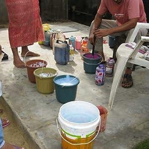 Pigment Dye Mixing