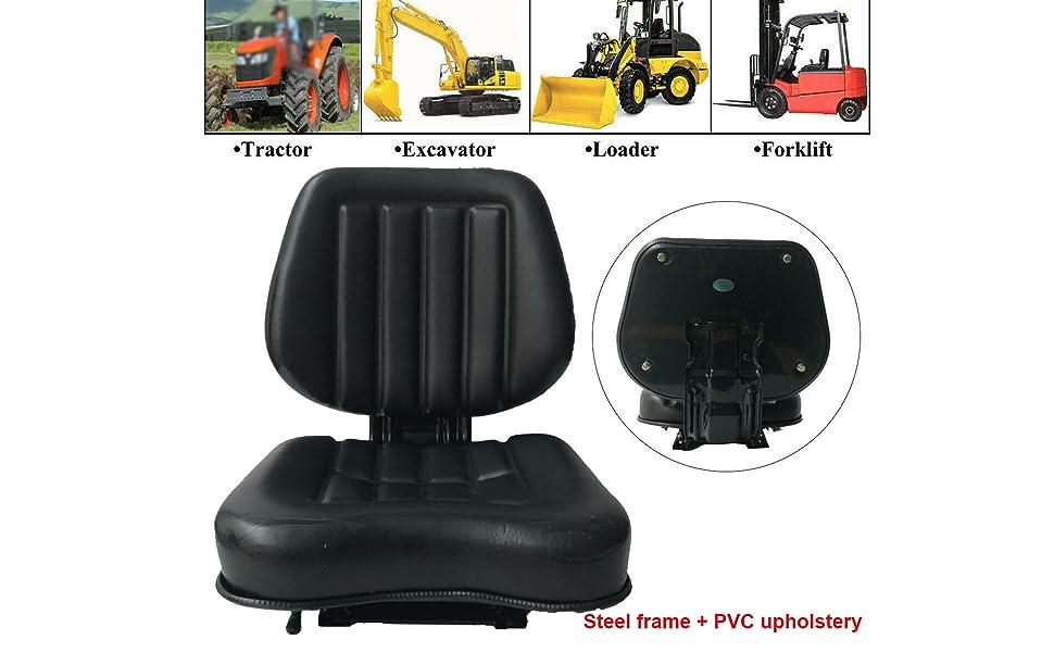 Suspension Seat Excavator Seat Forklift Seat Tractor Seat Skid Loader Seat Backhoe Dozer Seat