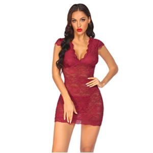 lace chemise mesh babydoll nightwear