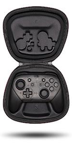 fit nintendo switch pro controller wireless gamepad holder storage case pouch