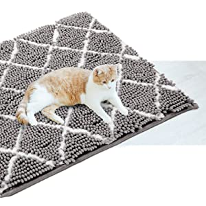 Tapis de tapis en peluche chenille