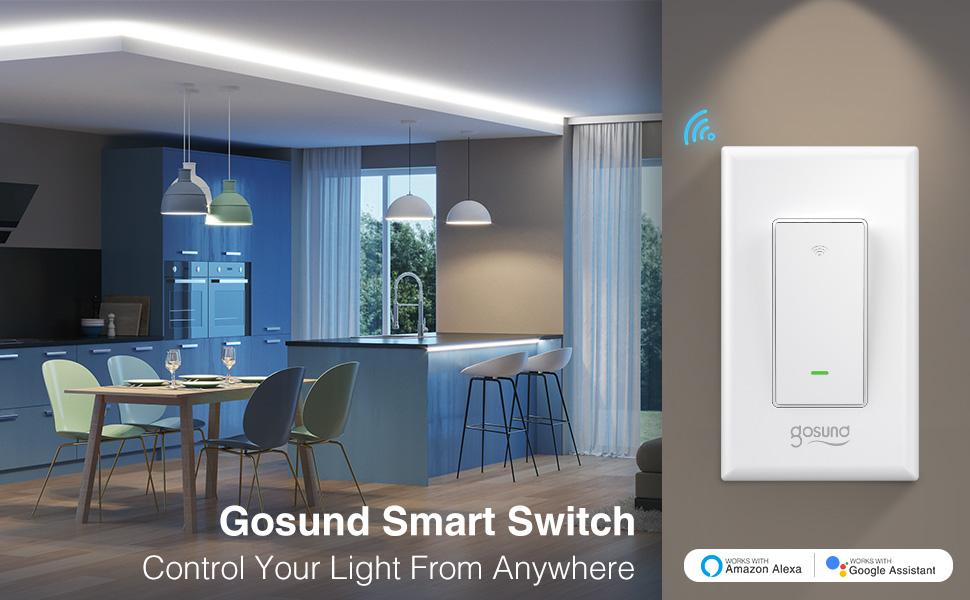 Gosund smart switch