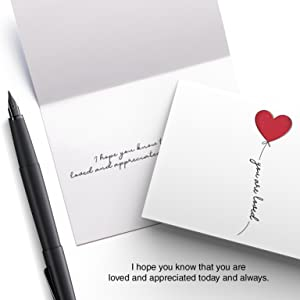 thinking of you missing cards