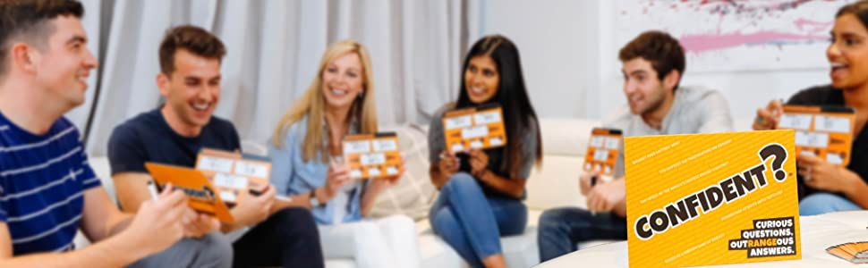 Confident party board game social play
