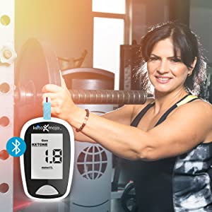 Ketone strip, keto-mojo, glucose, bloos glucose, ketogenic, blood ketone, affordable meter, accurate