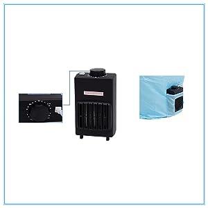 Concise Home Mini secador de viaje 1000W de gran capacidad 10 kg doble de acero inoxidable secador el/éctrico port/átil