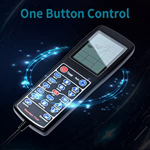 One button control easy simple to use quick