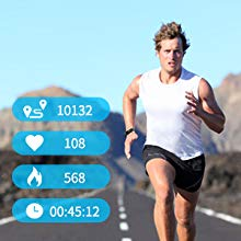 Fitness Tracker& multiple sports modes