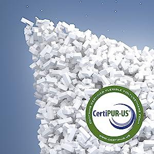 Memory Foam Safe Cooling Certipur