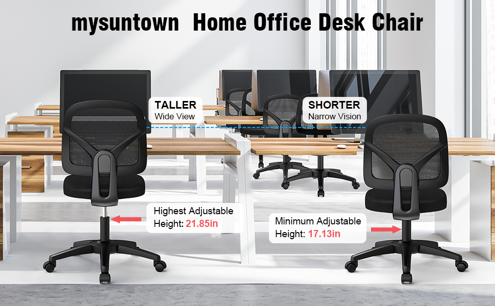 office chair ergonomic no arms