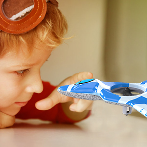 Mayceyee F22 Drone for Kids and Beginner_Blue_2-1