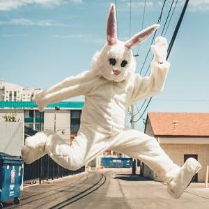 Easter Bunny Hopping