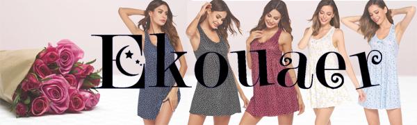 Ekouaer nightgown give you comfortable everyday