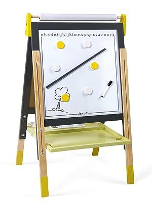 tableau réglable gris et jaune janod