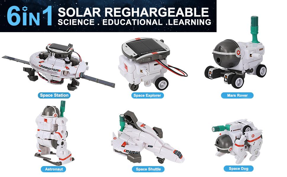 solar robot toys
