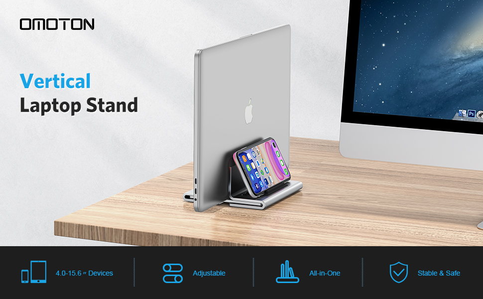 Vertical Laptop Stand