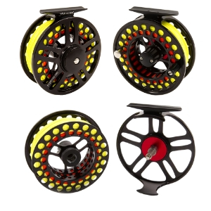 wild water fly fishing, 7/8 fly reel, large arbor reel, 95mm reel, CNC machined aluminum reel