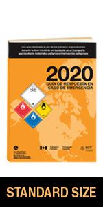 "2020 Emergency Response Guidebook (ERG) - Spanish - 5.5"" x 7.5"" (Standard Size), Softbound"
