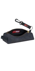rough enough small tool bag canvas pencil case canvas tool bag tool pouch heavy duty canvas fabric