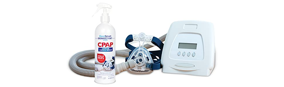 CPAP Disinfectant Spray Machine View