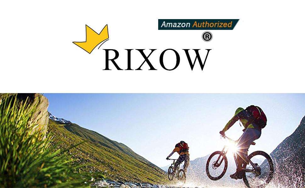 Candado de Bicicleta, Rixow Candado de Combinación de Bicicleta ...