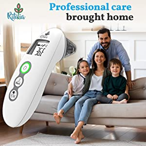Ritalia baby thermometer Professional care brought home