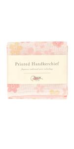 Nawrap Printed Handkerchief, Flower