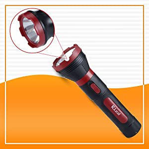 Rico Chargeable High Power Long Distance Plastic Torch
