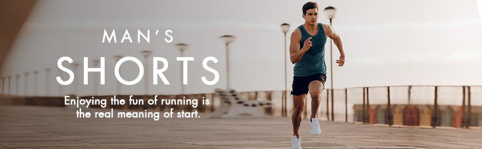 mens 5 inch running shorts