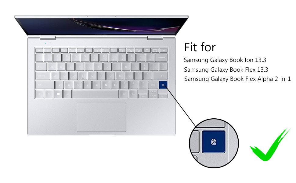 Samsung Galaxy Book Ion Flex 13.3 keyboard cover