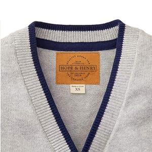 Hope /& Henry Boys Cardigan Sweater