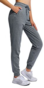 drawstring joggers with zippers