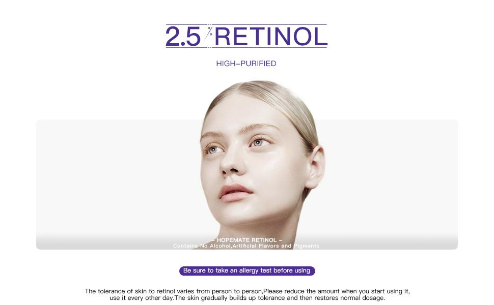 Hopemate retinol