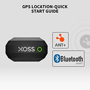 XOSS CHEST STRAP HEART RATE MONITOR BLUETOOTH 4.0 WIRELESS HEART RATE WITH CHEST STRAP HEALTH