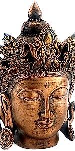 Bodhisattva White Tara Statue Goddess of Compassion and Healing Meditating