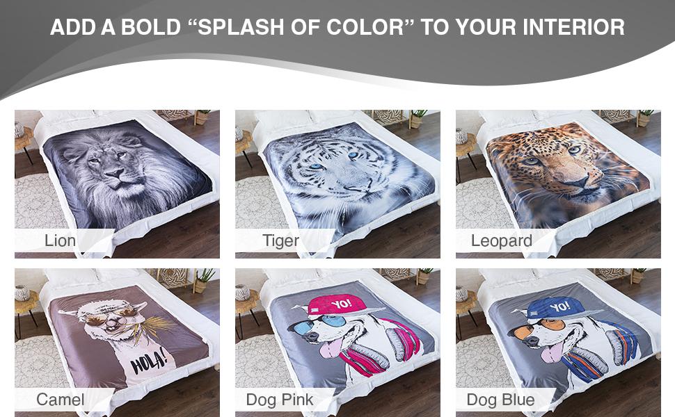"Warm Soft Plush Premium Lightweight Fleece Grey 30/""x40/"" 5 STARS UNITED Baby Blanket for Girls and Boys"