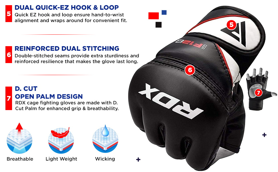 MMA Gloves for Grappling Martial Arts Training