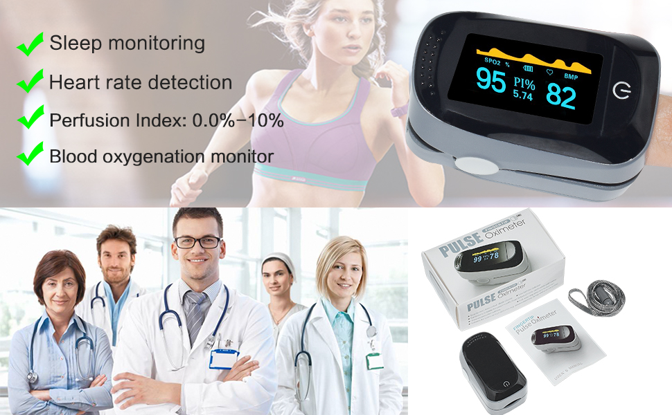 Asobilor Finger Pulse Oximeter 2018