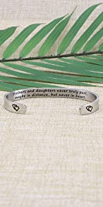 Mothers daughters bracelet