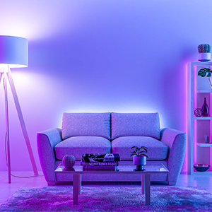 led strips lights for living room
