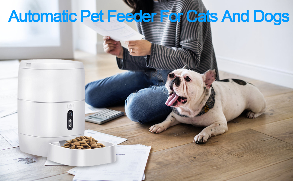 Automatic pet feeder for cars and feeders