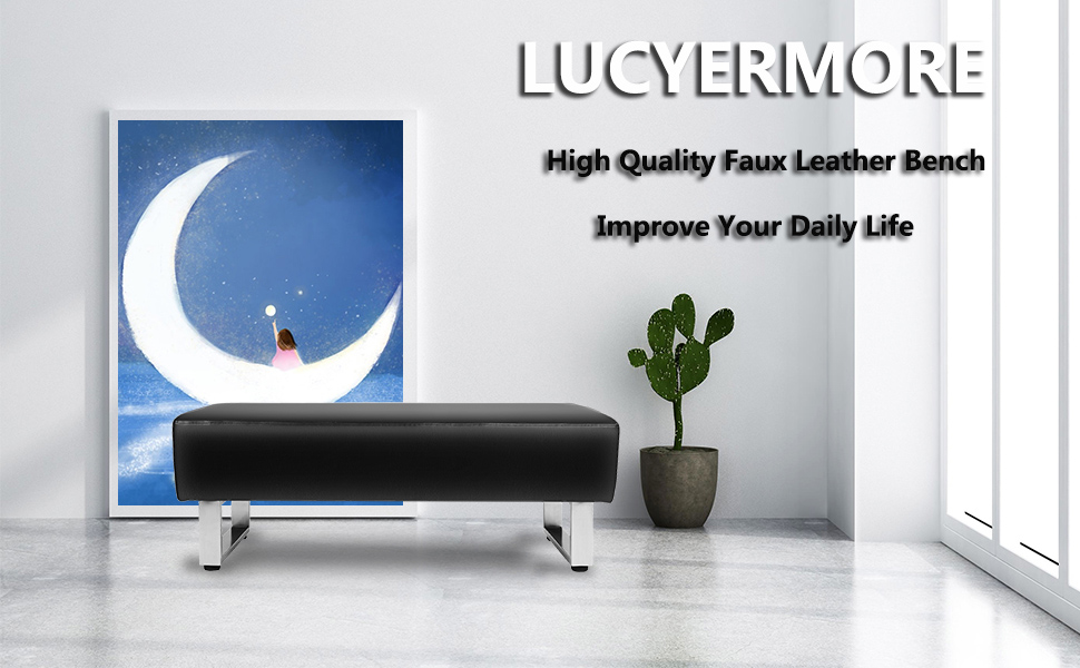 LUCKYERMORE Dining Room Bench