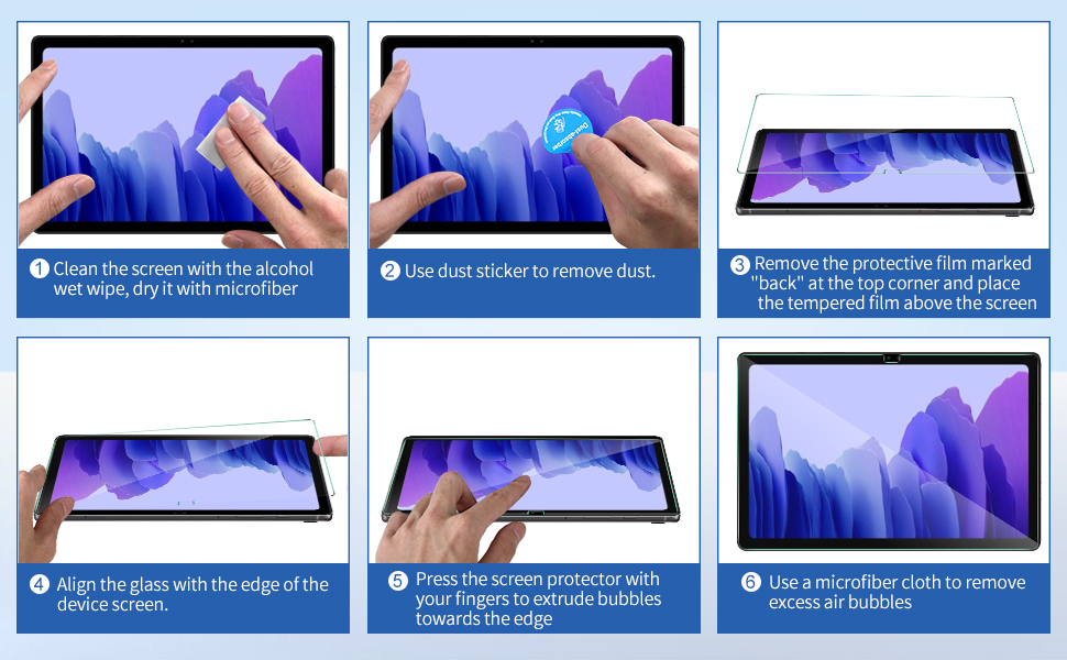 IVSO Screen Protector for Samsung Galaxy TAB A7