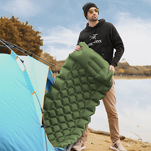 Best Sleeping Pads for Backpacking, Hiking Air Mattress - Lightweight, Inflatable & Compact,