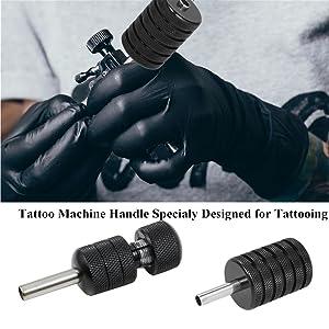 tattoo steel grips