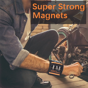 Magnetic Wristband Gifts for Men, Magnetic Tool Belt DIY Gifts, Father Day Gift