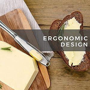 ergonomic practical butter spread tool