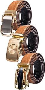 orange leather mens belt extra long jeans belt comfort leather click buckle novelty gift sets father