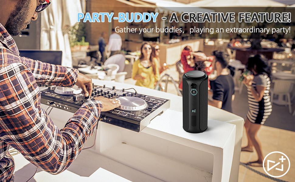 Party-Buddy speaker