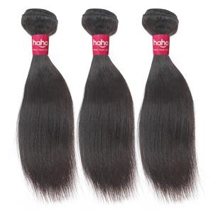 Brazilian Straight Hair 3 Bundles Unprocessed Brazilian Virgin Human Hair Weave Bundles